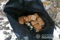 В Кривом Роге правоохранители обнаружили схрон с боеприпасами