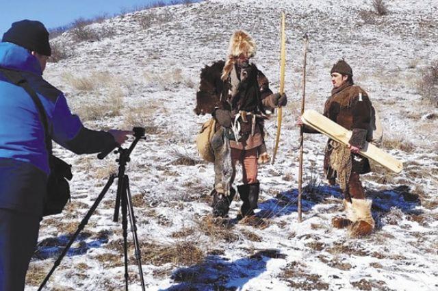 Съёмки фильма проходят на фоне не тронутой цивилизацией природы.
