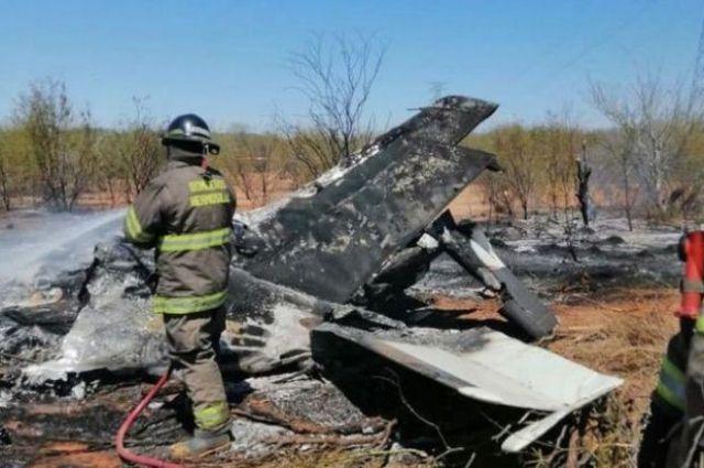 В Мексике разбился самолет: погибло шесть человек.