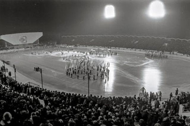 11 февраля 1986 года. Открытие турнира на стадионе «Труд».