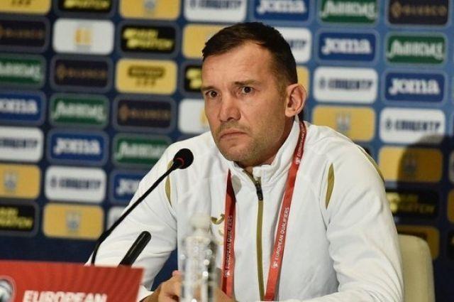 Шевченко прокомментировал игру сборной Украины в матче против Финляндии