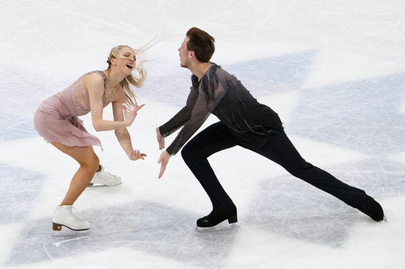 Виктория Синицина иНикита Кацалапов опытные участники чемпионатов мира, для них это был третий турнир. В2019 году они взяли серебро, асейчас сумели сделать шаг вперед, выиграв золотые медали.