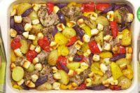 Запеченная свинина с овощами: рецепт сочного блюда