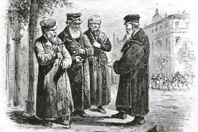 Евреи Одессы, 1876 год.