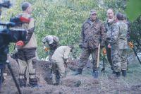 Поисковики продолжают находить останки жертв ВОВ.
