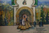 В центре проекта культурного комплекса - выходящая из церкви молодая счастливая пара. Оно может стать местом паломничества влюблённых.