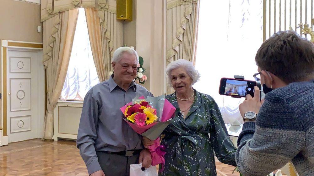 Раиса Степановна и Геннадий Аркадьевич.