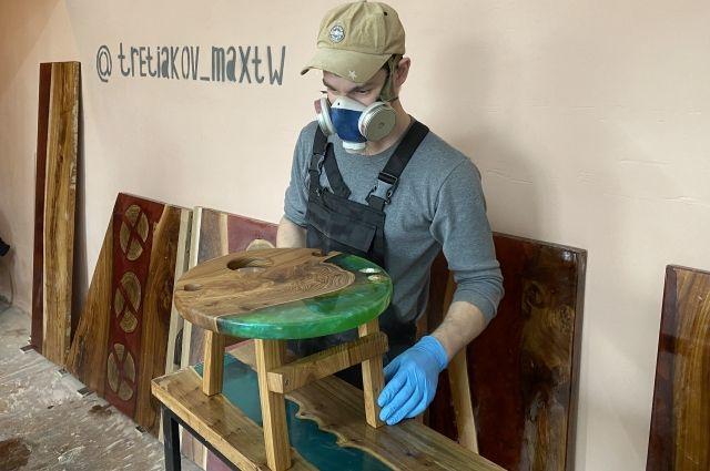 Во время вынужденного простоя молодой человек реализовал свой проект.