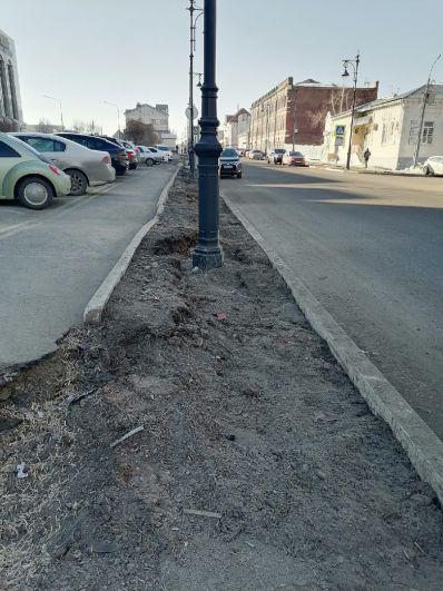ул. Комсомольская в Оренбурге.