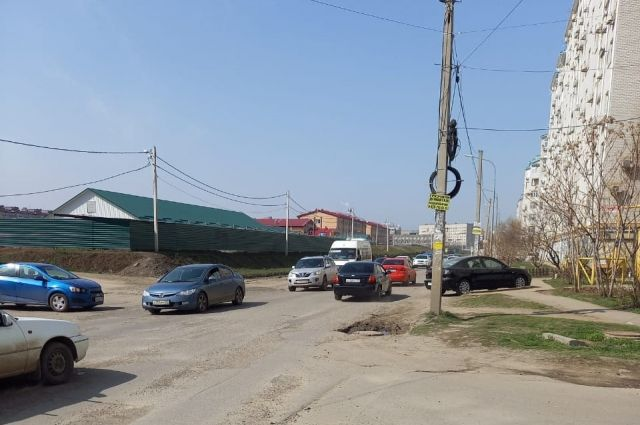 Улица Черкасская в Краснодаре.