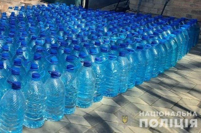 В Кировоградской области разоблачили производство контрафактного алкоголя