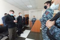 Павел Сычев и Валерий Быков в ожидании приговора.