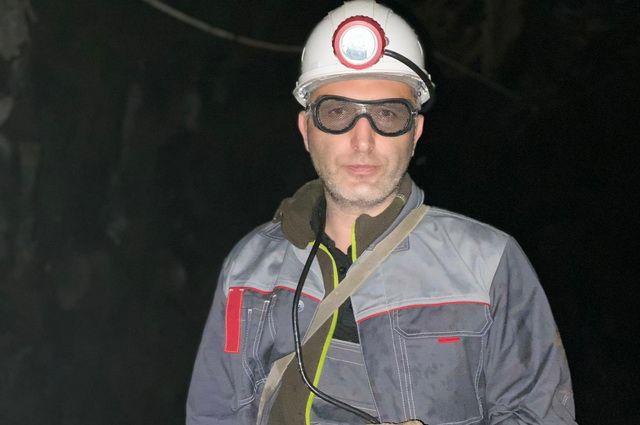 Главный ресурсный геолог ТСГ Асача Олег Жуков. Фото: