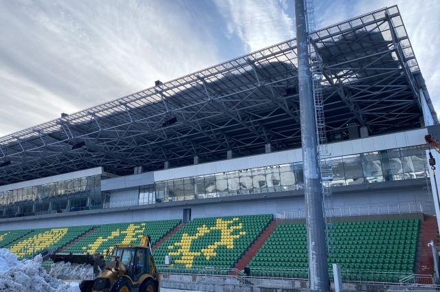 Этот мультидисциплинарный объект реконструировали к чемпионату мира по хоккею с мячом, который состоится в 2022 году.