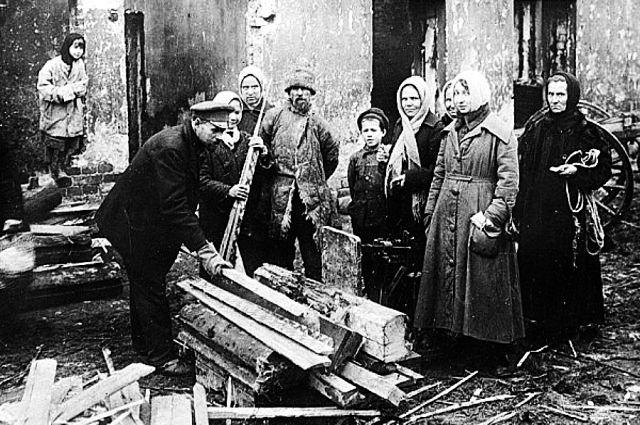 Переживаемую жителями Петрограда разруху финны решили усугубить массовыми терактами.