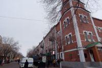В Оренбурге территорию аварийного дома на Советской, 27 будет круглосуточно охранять полиция.