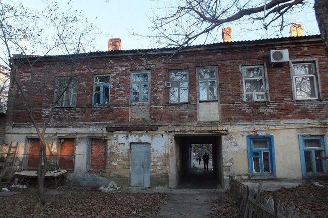 Так до ремонта выглядел дом на ул. Октябрьской, 25, в Ставрополе.