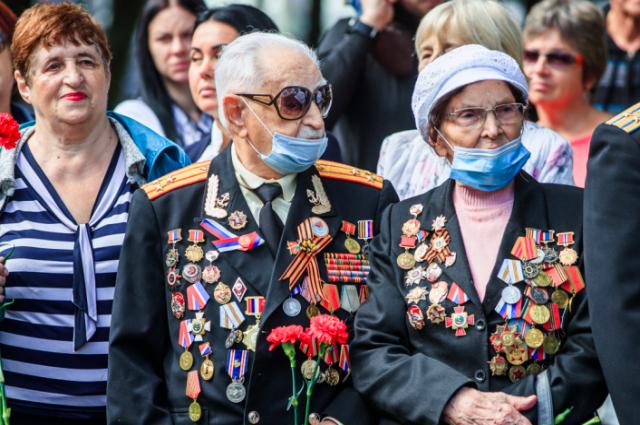 Пособие в этом году получат 371 фронтовик, из которых 81 инвалид и 290 участников Великой Отечественной войны.
