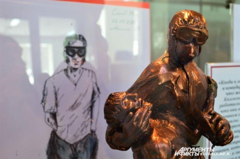 Руслан даже представлял свой эскиз проекта памятника врачам, но, к сожалению, на голосование его не выдвинули - нет профессионального образования.