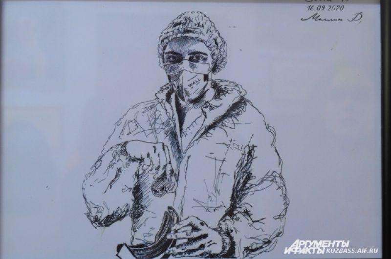 Его зарисовки уже побывали в нескольких кузбасских городах. Творчеством врача активно интересуются даже зарубежные журналисты.