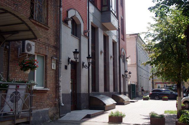 Здание Россотрудничества в Киеве.