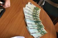СБУ разоблачила группировку, которая сбывала фальшивые евро.