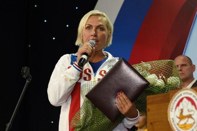 Чемпионка мира по боксу Наталья Рагозина.