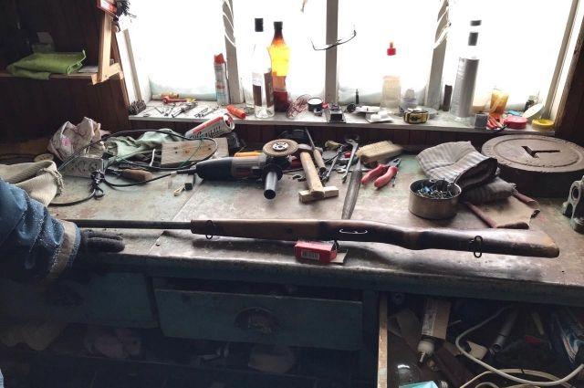 За незаконное хранение оружия жителю Красногвардейского района грозит реальный срок.