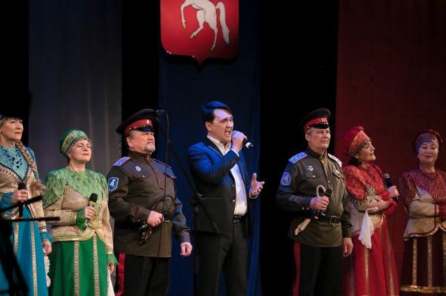 Во время концерта представили видеоролик и сайт lysva-gtd.er.ru.