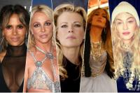 Холли Берри, Бритни Спирс, Ким Бейсингер, Дженнифер Лопес и Мадонна.