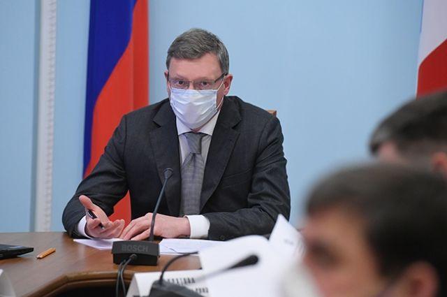 Омский губернатор Бурков приехал в Москву для встречи с Путиным