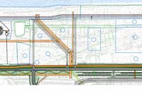 На территории появится новый жилой комплекс с детским садом и школой.