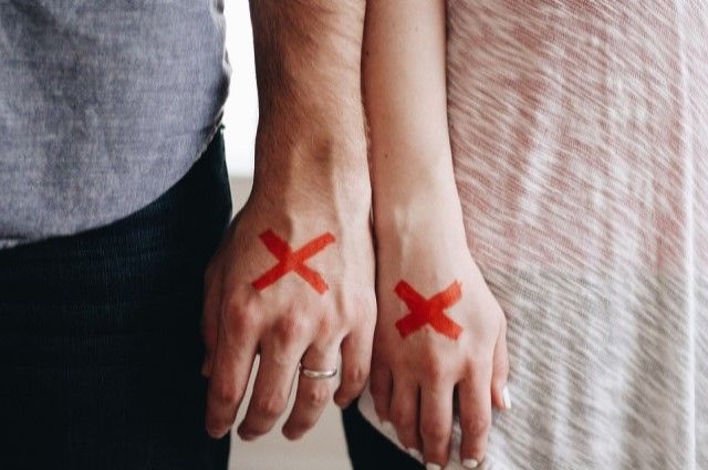 Лишь 10% пар отказываются от намерения разойтись.