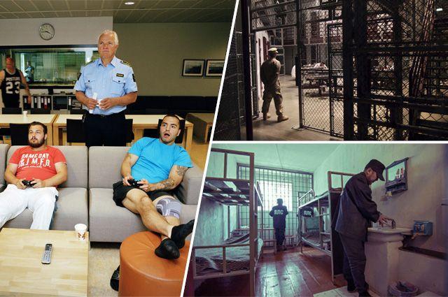 Тюрьма в любом случае отвратительна, какие бы условия содержания в ней ни были.