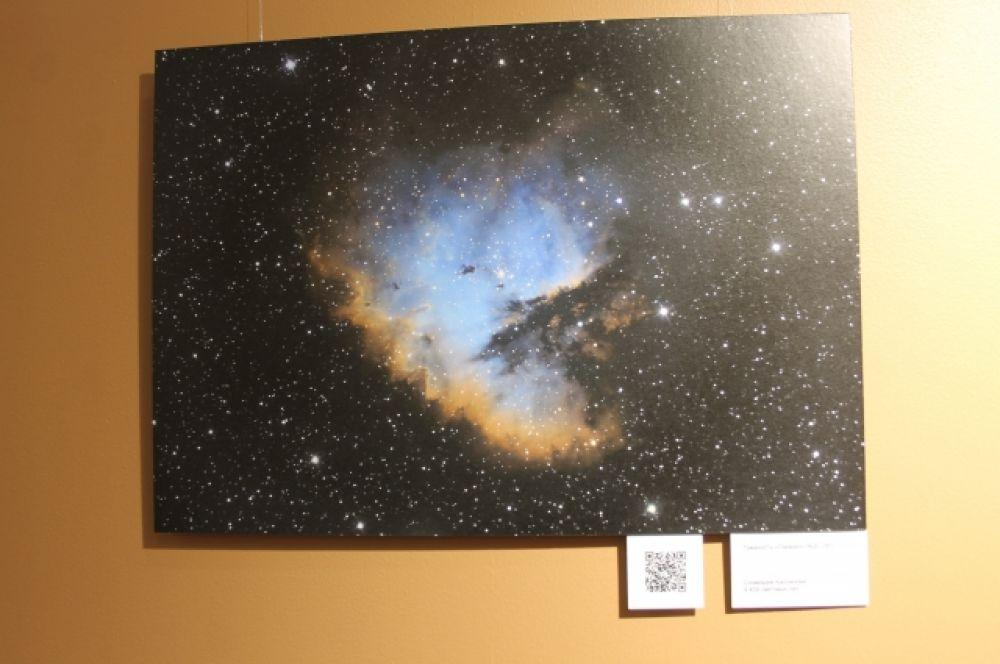 Чтобы получить детальный снимок галактики или туманности, нужно сделать более 300 кадров.