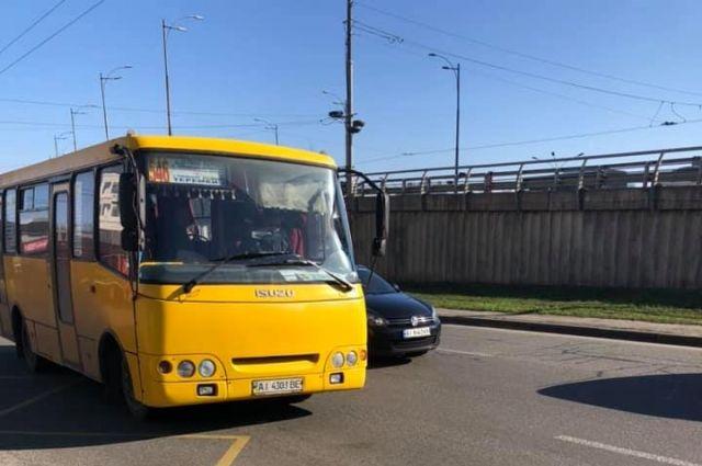 В Киеве начали массово увольняться водители маршруток