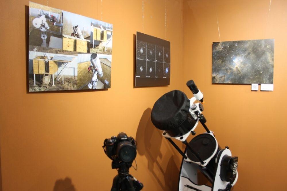 Астрофотографии сделаны в обсерватории, которая расположена в 30 километрах от Оренбурга.