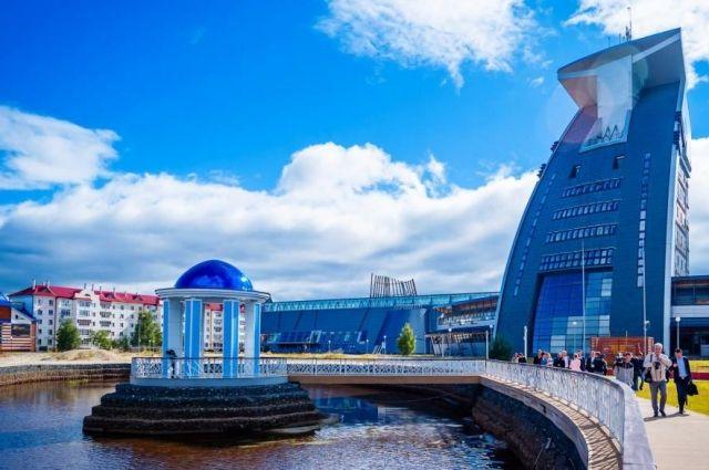 Набережная в Белоярском стала «народным проектом» и уже построена