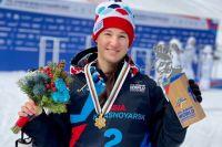 Ксения Орлова после очередной победы.