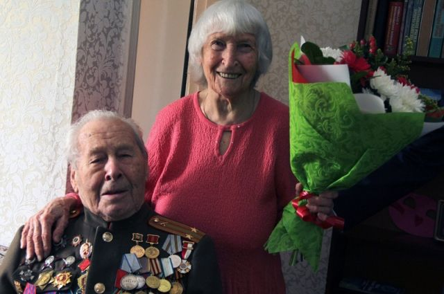 Супруги Шпагины вместе счастливы 75 лет.
