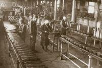 Снарядное производство на «Сибтяжмаше».