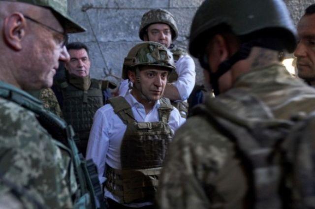 Зеленский отреагировал на убийство солдата на Донбассе