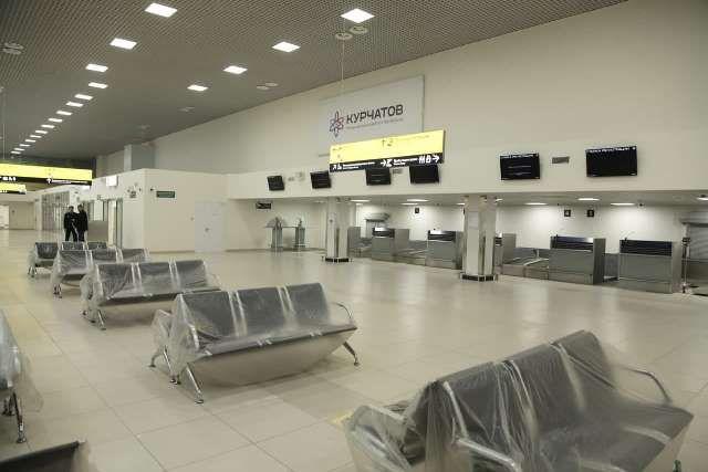 Международный терминал готовится к открытию.