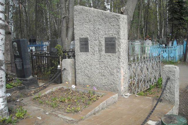 Состояние могилы Анны Заломов пока волнует только неравнодушных граждан.