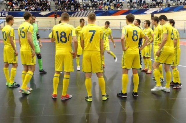 Евро-2022: сборная Украины по футзалу разгромила сборную Дании