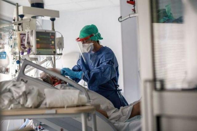 В Украине разрешили использовать технический кислород для больных на COVID