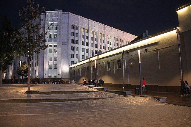Новое здание Генштаба ВС РФ.