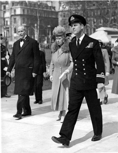 Герцог Эдинбургский (будущий принц Филипп), 1948 год.