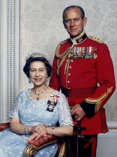 Королева Елизавета II и герцог Эдинбургский.