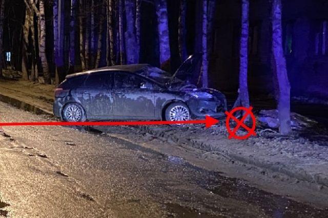 ДТП произошло 9 апреля на Сысольском шоссе.